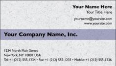 English Business Card Design Template: TXT0001