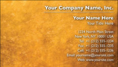 English Business Card Design Template: TXT0012