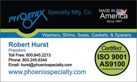 Phoenix English Business Card Translation Sample