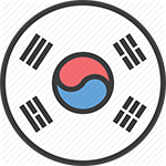 Bilingual Korean Business Card Translation & Printing Symbol Small