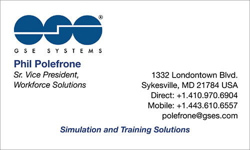 Vietnamese Business Card Translation Sample 500 - GSE Systems English