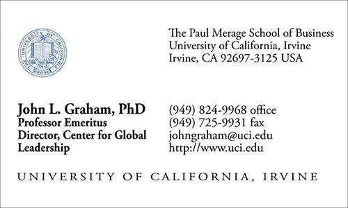 Vietnamese Business Card Translation Sample 500 - UC Irvine English