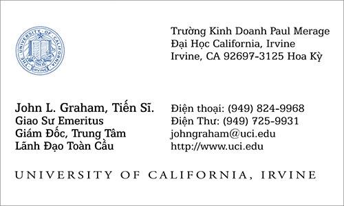 Vietnamese Business Card Translation Sample 500 - UC Irvine Vietnamese