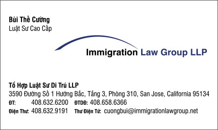 law English Vietnamese Business Card Translation Sample